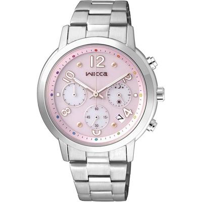 CITIZEN 星辰 WICCA 彩虹繽紛時尚限量腕錶KF5-012-91