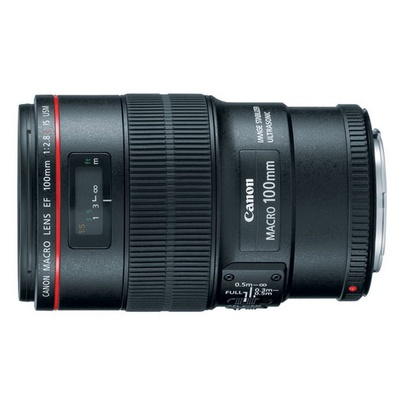 Canon 佳能 EF 100mm F2.8L Macro IS USM 微距鏡頭
