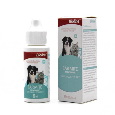 Bioline | Ear Mite Treatment for Dogs & Cats