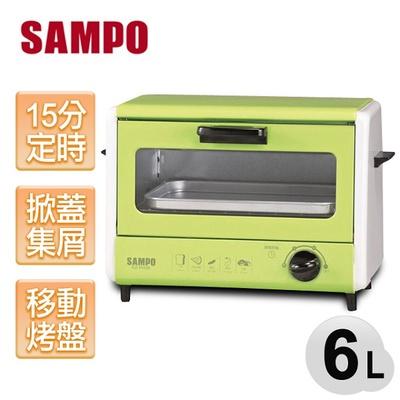 SAMPO 聲寶6公升雙層電烤箱 KZ-PH06