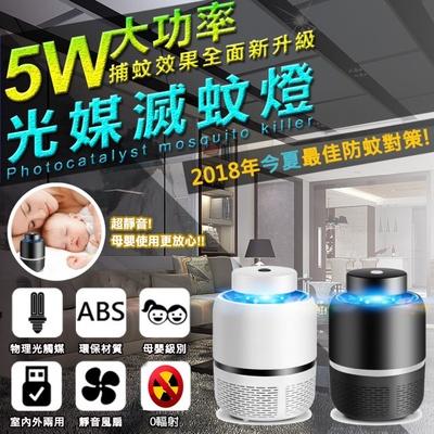 【FJ】0輻射激光媒吸入式LED捕蚊燈/滅蚊器(MW-68)