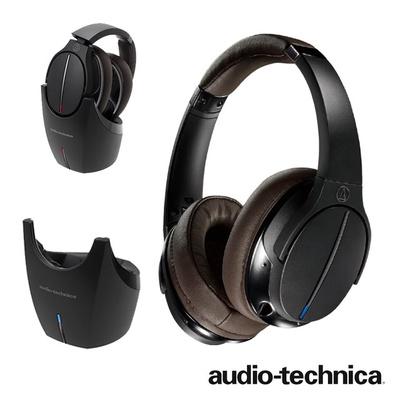 【鐵三角 audio-technica】ATH-DWL770 2.4G高傳真立體聲可切換數位無線耳機組