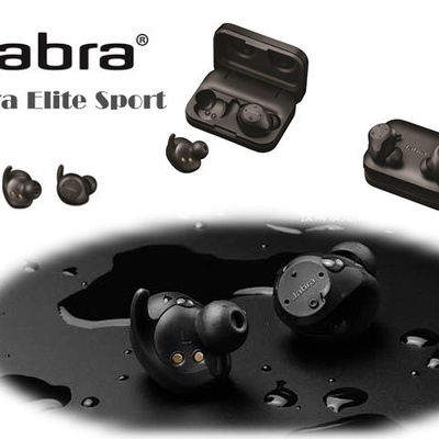 【Jabra 捷波朗】Elite Sport 真無線運動藍牙耳機