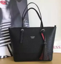 GUESS | กระเป๋าถือหรือสะพายสำหรับผู้หญิง Guess Decimals Medium Tote Bag