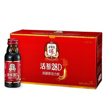 正官庄 活蔘28D 韓國人蔘萃取物補氣補血精氣神調整體質