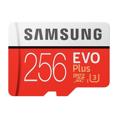 SAMSUNG | Micro SD card 256GB EVO Plus CLASS 10 รุ่น MC256GA/APC