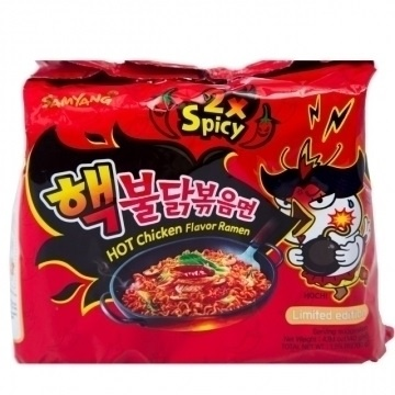 【Samyang 三養】激辛火辣雞肉風味鐵板炒麵