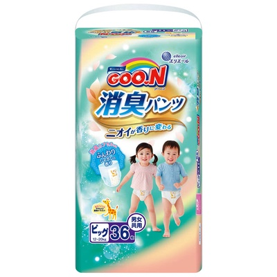 【GOO.N 大王】日本境內版香香褲