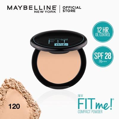 Maybelline FIT ME MATTE+PORELESS POWDER | แป้งคุมมัน เมย์เบลลีน ฟิต มี แมท+พอร์เลส คุมมัน12ชม.