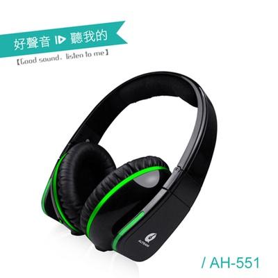 【ALTEAM我聽】AH-551 內建耳擴式耳機