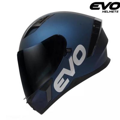 EVO | SVX-01 Plain Full Face Dual Visor Helmet