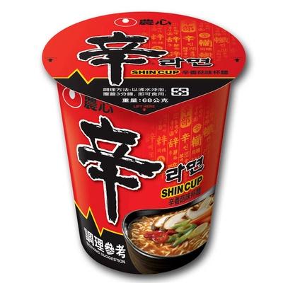 【NONG SHIM 農心】辛香菇杯麵