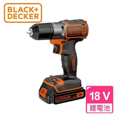 【BLACK&DECKER百工】18V鋰電池智能電鑽起子機(AUTO01)