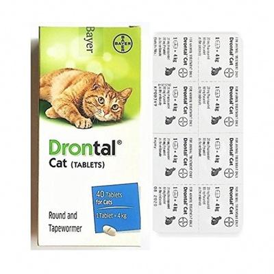 Bayer Drontal Cat | ยาถ่ายพยาธิ แมว