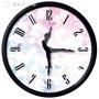 跳舞裝飾靜音時尚臥室芭蕾舞蹈鐘錶掛鐘客廳創意個性藝術圓形時鐘  YYS