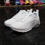 【ROCK】NIKE AIR MAX MOTION LW白色全白網布氣墊切割底慢跑鞋 833260-110