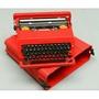 收藏古董意大利 Olivetti Valentine 奧利維蒂情人 經典打字機