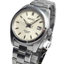 BRAND NEW SEIKO MINI GRAND SEIKO 6R15 MOVEMENT WHITE DIAL AUTOMATIC MENS DRESS WATCH SARB035