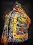 大台灣藝品批發 新款手工高級神明衣 王爺 池府 玄天上帝 千歲 黑色龍袍 各尺寸皆有 一尺三神明使用