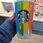 現貨款524 starbucks 彩虹世界款🌈🌈雙層陶瓷杯