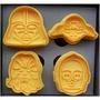 (8033)DIY樂樂 星際大戰款4入彈簧餅乾模具 餅乾模具 押花模具 餅乾印章 多款圖案