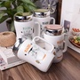 糖衣子輕鬆購【WE0109】創意可愛龍貓大肚杯水杯陶瓷杯卡通鏡面馬克杯附蓋