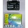 全新湯淺YUASA機車電池 YTX4L-BS(同GTX4L-BS)4號機車電池