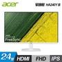 【Acer 宏碁】HA240Y B 24型 IPS Full HD 白色美型超薄邊框螢幕