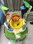 二手寶寶彈跳椅 附地墊