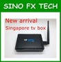 2018 newest Recolbe box V9 Super Singapore star channels tv box Linux  cable receiver update from freesat v9 pro