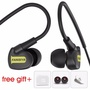 Waterproof Sweetproof IPX6 Earpiece Handsfree with Mic Sport Mp3 player Earbuds Game Headset Auricul