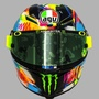 羅西2019冬季測試帽 預購🔥Valentino Rossi Debuts Winter Test 2019 AGV