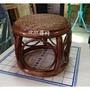 【詮欣藤具批發零售】藤製鼓椅/客廳椅/藤椅  B001