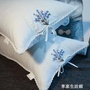 全棉薰衣草枕頭助睡眠護頸椎成人可水洗枕芯一對真空48x74cm  -享家生活館