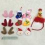聖誕節 麋鹿角半成品/聖誕襪/聖誕老公公/聖誕帽髮箍姐