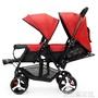 嬰兒推車 雙胞胎嬰兒手推車雙人童車輕便折疊可躺前後座推車DF  科技藝術館