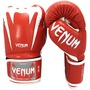 毒蛇 VENUM 專業/真皮/拳套/拳擊手套 巨人款系列3.0-紅/白 10oz 12oz
