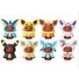 日本限定 神奇寶貝中心 變裝伊布 火精靈 月精靈 變裝火伊布 變裝月伊布 寶可夢 精靈寶可夢 扭蛋 轉蛋 全新