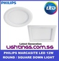 Philips LED Downlight 59522 / 59523 / 59527 / 59528