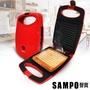快-聲寶SAMPO 烤吐司三明治機 TG-B1602L(甜心紅)