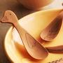 通動物兒童飯勺蜂蜜果醬調羹勺冰淇淋勺木勺子湯勺 湯匙