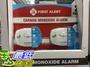 [COSCO代購] C116325 FIRST ALERT CO MONOXIDE DETECTOR 2-PACK 一氧化碳偵測警報器