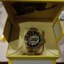 英威塔一字簍空機械錶