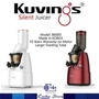 KUVINGS SILENT SLOW JUICER LARGE FEEDING TUBE B6000 (RED) MADE IN KOREA 10 YEARS WARRANTY!