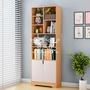 【熱賣品 !特價中】書柜書架落地簡約桌上現代簡易臥室置物架北歐學生自由組合小書柜