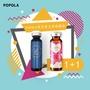 POPOLA 彈力 蛋白聚醣飲+明明美 天王天后同台組合(1+1盒)