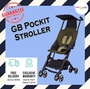 GB Pockit Stroller - Local seller warranty 6 months