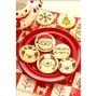 [每周一出貨]{{聖誕節可愛手工餅乾}} 聖誕樹 人物造型餅乾.二進婚禮小物桌上禮婚紗 交換禮物.聖誕老公公雪人麋鹿