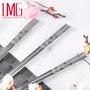 【LMG】316 不鏽鋼雷射雕紋筷子(10雙入)櫻花