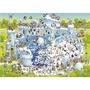 (預購) 德國 HEYE 29692 Degano Funky zoo系列 極地動物區 1000片拼圖